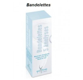 BANDELETTES 5 ANALYSES SPA TIME BAYROL