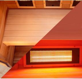 Sauna PureWave 3 places banc