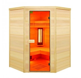Sauna 4 places angles