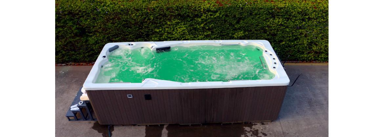 Petit spa de nage, spa de nage bi-zone, spa de nage intérieur ou extérieur - Aquatech Spa