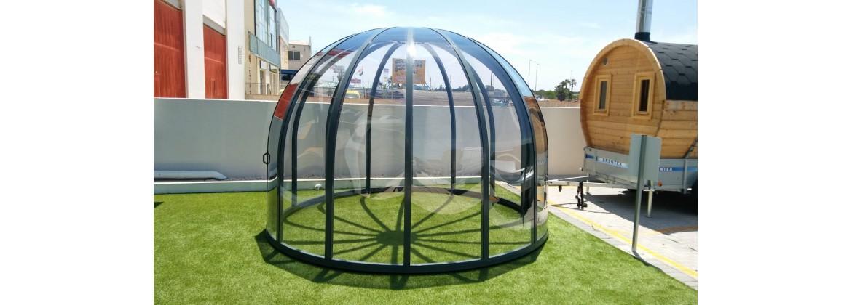 Abri de jardin pour spa, abri pour spa en aluminium, abri pour spa de nage - Aquatech Spa