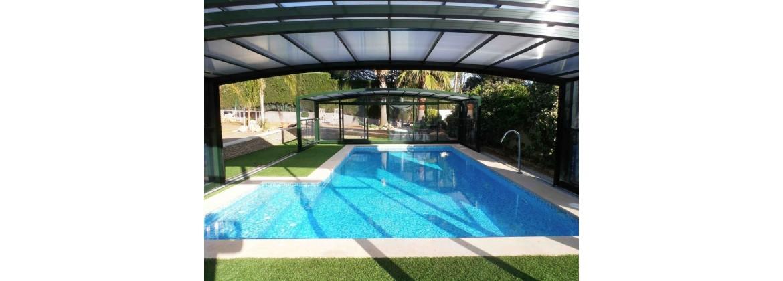 Abri de spa de nage - Abris de piscine - Abris de spa hors sol - Aquatech Spa